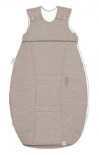 Odenwälder Jersey-Schlafsack Airpoints 90 cm melange latte