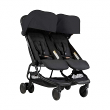 Mountain Buggy Nano Duo Black - twin stroller