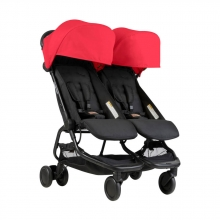 Mountain Buggy Nano Duo ruby - twin stroller