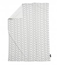 Alvi Babydecke Jersey Wolke silber 75x100cm