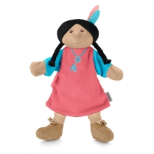 Sterntaler hand puppet Indianer