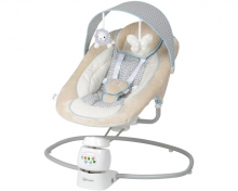 BabyGo bouncer Snuggly beige