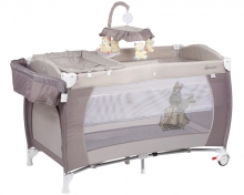 BabyGo travel cot Sleeper deluxe beige
