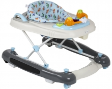 BabyGo walking learning aid 4in1 grey light blue