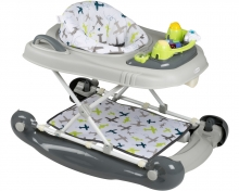 BabyGo walking learning aid 4in1 green