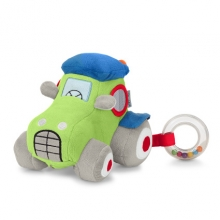 Sterntaler soft toy with sound tractor Wieslinge Tom