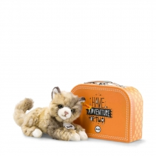 Steiff Lucy cat 18 spotted brown