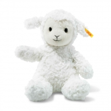 Steiff Fuzzy Lamm 28 weiss