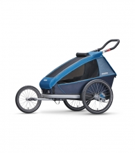Croozer Kid Plus for 1 Ocean blue 2018 inkl. Licht