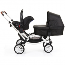 ABC Design Zoom Air Twin Buggy piano