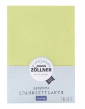 Zöllner Jersey Spannbetttuch 34-grün 70/140