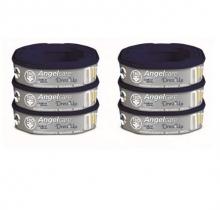 Nachfüllkassetten für Angelcare® Windeleimer Dress-Up, 6er-Pack
