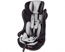 BabyGo child seat Iso grey 9-36kg