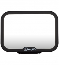 BabyGo Car Seat Mirror Black