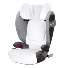 Cybex Pallas S-Fix / Solution S-Fix summer cover White | white