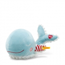 Steiff Willy whale 241505 light blue/white 26cm