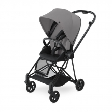 Cybex MIOS Manhattan Grey - Matt Black