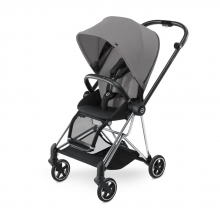 Cybex MIOS Manhattan Grey - Chrome
