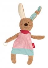 Sigikid 38847 pacifier-comforter rabbit pink