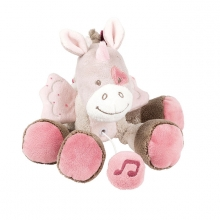 Nattou Jade & Lili mini musical toy Jade the unicorn