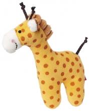 Sigikid 41170 Rassel Giraffe Red Stars