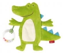 Sigikid 41880 Aktiv Schnuffeltuch Krokodil