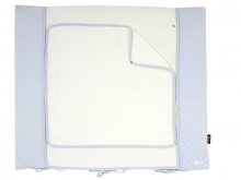 Alvi Wickelauflage+Bezug Set Classic Line Dream blue 70 x 85 cm