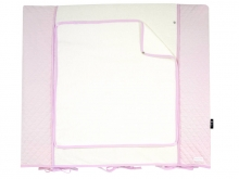 Alvi Wickelauflage+Bezug Set Classic Line Dream rose 70 x 85 cm