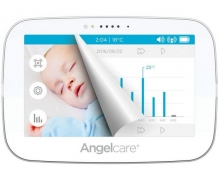 Angelcare® AC517-D Noise and motion detector with video surveillance and sensormat