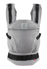 Manduca baby carrier First Belly Button WildCrosses grey