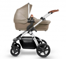 Silver Cross Wave starter pack linen - sable incl. carrycot, seat etc.