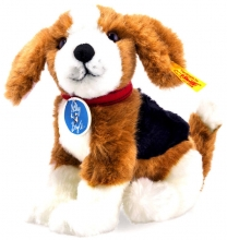 Steiff 355288 Nelly the Beagle brown/white/black 18 cm