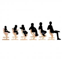 DawOst tiSsi® high chair nature