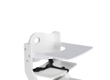 DawOst tiSsi® table for high chair white