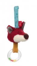 Sigikid 42234 active clip fox Hubert Hallali