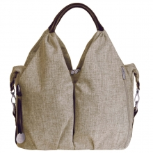 Lässig Neckline Bag Choco Melange Green Label
