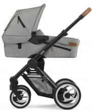 Mutsy Evo Nomad Light Grey 2019 including carrycot, seat and frame