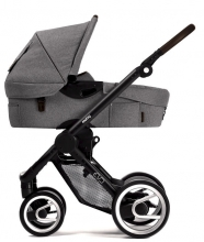 Mutsy Evo Farmer Mist 2018 including carrycot, seat and frame