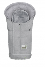 Odenwälder footmuff Lammy Fashion New Woven coll. 19/20 soft grey