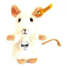 Steiff 056215 Maus Pilla 10 weiß