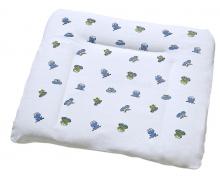 Odenwälder Frottee-Bezug für Wickelauflage 26004 Frosch blau