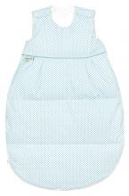 Odenwälder Thermo-Nest® Daunen-Schlafsack dots Koll. 18/19 110 cm soft mint