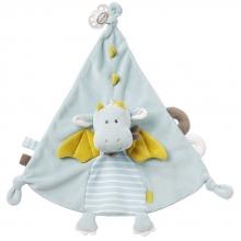 Fehn 065077 deluxe comforter dragon with pacifier holder Little Castle