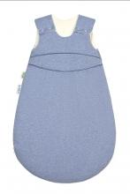 Odenwälder BabyNest® Klimasoft-Schlafsack warm Koll. 18/19 110 cm melange bleu