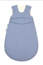 Odenwälder BabyNest® Klimasoft-Schlafsack warm Koll. 18/19 90 cm melange bleu