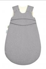 Odenwälder BabyNest® Klimasoft-Schlafsack warm Koll. 18/19 90 cm melange silber
