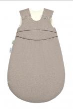 Odenwälder BabyNest® Klimasoft-Schlafsack warm Koll. 18/19 90 cm melange latte