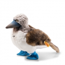 Steiff 063749 Booby blue-footed booby 24 wite/grey/brown
