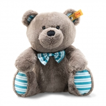 Steiff 113741 Boris teddy baer 19 grey brown