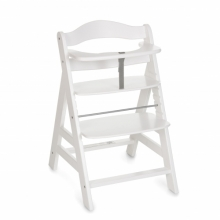 Hauck high chair Alpha + white